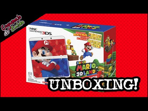 UNBOXING! New Nintendo 3DS: Edição Especial Super Mario 3D Land