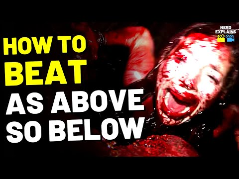 """How to Beat the HELL CAVES in """"AS ABOVE, SO BELOW"""" (2014)"""