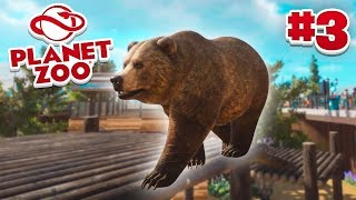 GRIZZLY BEARS! - Planet Zoo #3 w/ Vikkstar
