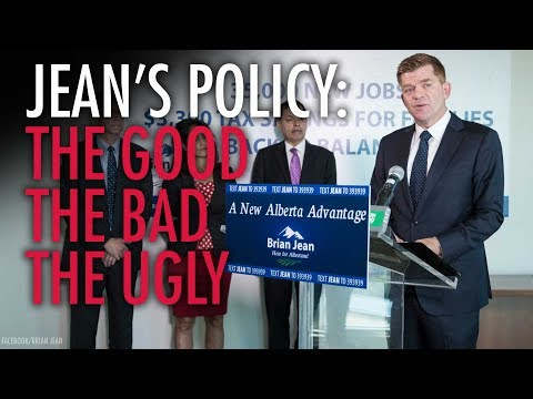 Why Brian Jean's policy proposals are a double-edged sword (видео)