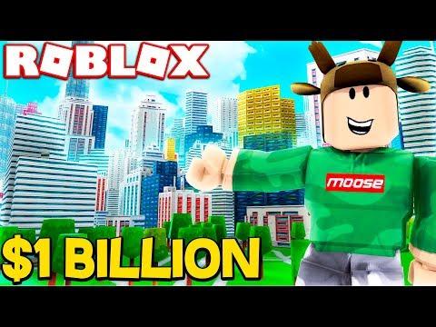 ROBLOX STREET SIMULATOR! *BUILDING $1 BILLION BEST CITY*