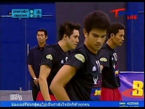 Nakhon Ratchasima - Bangkok Takraw Thailand League 2012 (1st)