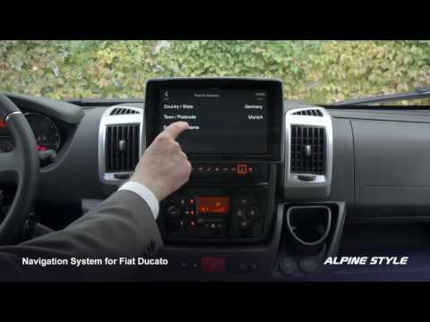 Alpine navigatiesysteem