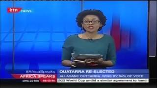 Africa Speaks 29th October 2015  - News coverage