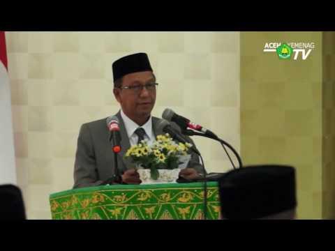 Pelantikan Pejabat Eselon III dan IV pada Lingkungan Kementerian Agama Provinsi Aceh
