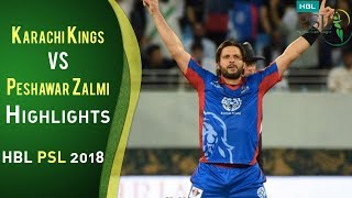 Video Full Highlights | Karachi Kings Vs Peshawar Zalmi | Match 7 | 25 February | HBL PSL 2018 | PSL MP3, 3GP, MP4, WEBM, AVI, FLV Maret 2018