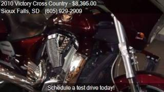 8. 2010 Victory Cross Country Touring for sale in Sioux Falls,