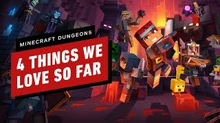 4 Things We're Loving About Minecraft Dungeons by IGN