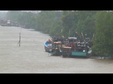 Behörden in Vietnam: Tropensturm
