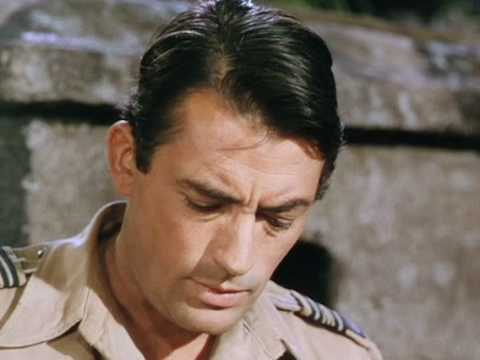 Gregory Peck - The Purple Plain (1954): 3 Forrester confesses about his past to Anna