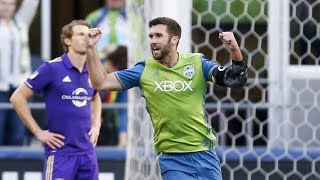 Seattle Sounders FC forward Will Bruin speaks to media following the club's 1-1 draw with Orlando City SC. SUBSCRIBE for more...