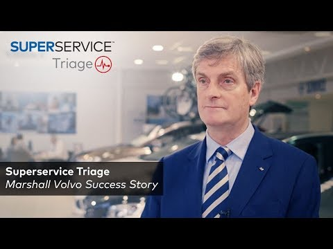 Marshall Volvo - Superservice Triage eVHC Success Story