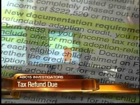 Tax credit delay