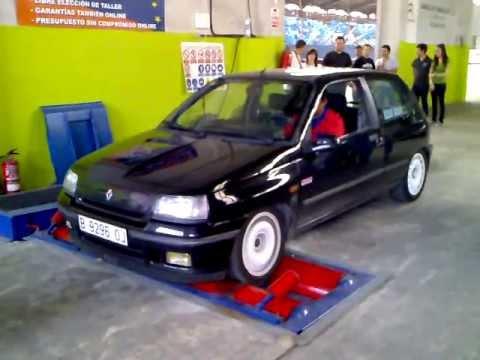 clio - Renault Clio 16V, llevaba una centralita gr. n pero no iba muy bien, di 120cv.