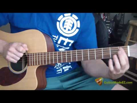Nirvana – The Man Who Sold The World – Guitar Lesson (BONUS! Learn The Guitar Solo At The End!)
