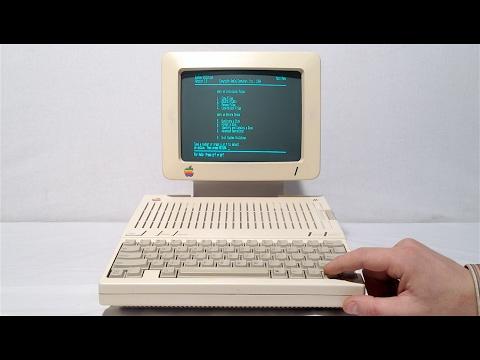 Обзор Apple IIc на русском языке