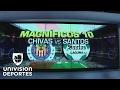 Los Magníficos 10 entre Chivas y Santos - Videos de Grandes Goles de Chivas Guadalajara