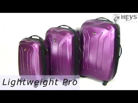 Відео огляд валізи Heys Lightweight Pro (M) Purple