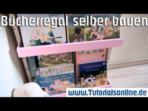 Kinder Bücherregal selber bauen - detaillierte Anleitung, verständlich erklärt