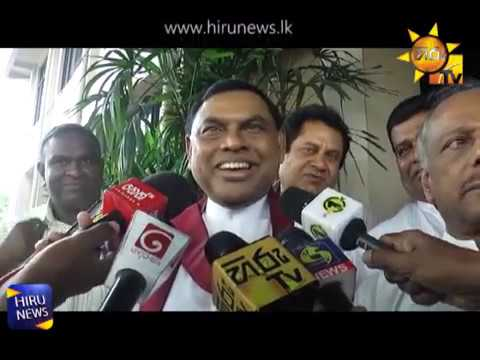 UPFA leaders meet to decide on Opposition Leader position, Minister Duminda says that no change in the position