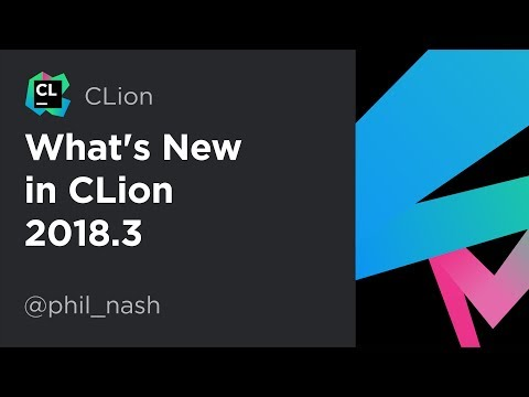 What's New in CLion 2018.3