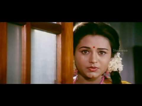 Alluda Majaka Movie Scenes - Chinna romancing Ooha - Chiranjeevi, Ramya Krishna, Ramba