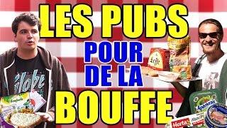 Hey ! Aujourd'hui on parle des pubs pour de la nourriture.Partager cette vidéo = Un apéro sauvé !Twitter : @MisterJDay / http://www.facebook.com/MisterJDayÉcrit et réalisé par Julien C. et MisterJDayAvec Julia F. / Gael K. / MisterJDay / Julien C.→ Les pubs Crédit Mutuel : https://www.youtube.com/watch?v=2IbgolhIZHY→ Les pubs locales : https://www.youtube.com/watch?v=VR6G3DHIZiUMa chaîne YouTube : http://www.youtube.com/JDayChaîne Gaming : http://www.youtube.com/SuperJDay64