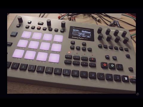 I Love this Sampler/Drum Machine Analog Rytm Mk2