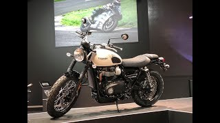 9. 2019 Triumph Street Twin | First view and Interview