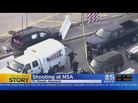 3 Injured In Shooting Outside NSA Headquarters
