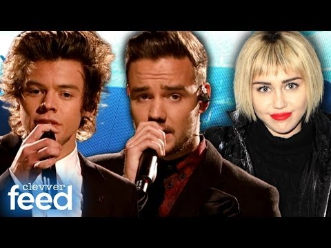 Cyrus - For more ClevverTV shows ▻▻ http://ow.ly/ktrcX One Direction's SNL Performances ▻▻https://www.youtube.com/watch?v=TaYTkHUmOBo Austin Mahone at Jingle Ball 20...