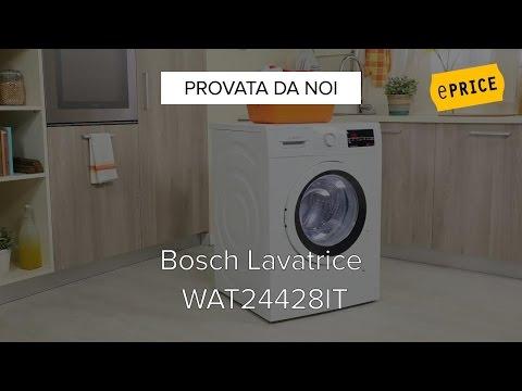 Video Recensione Lavatrice Bosch WAT24428IT