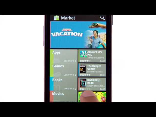 A New Android Market for Phones