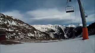 Arinsal Andorra  city pictures gallery : Skiing in Arinsal, Andorra, 13th December 2014