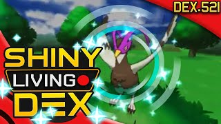 SHINY UNFEZANT!! Tranquill Live Reaction! Quest For Shiny Living Dex #521 | Pokemon XY by aDrive