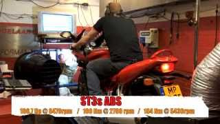 2. Ducati ST3s ABS-Gets a better adjustment.