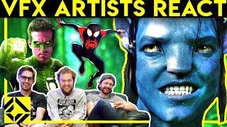 Video VFX Artists React to Bad & Great CGi 6 MP3, 3GP, MP4, WEBM, AVI, FLV September 2019