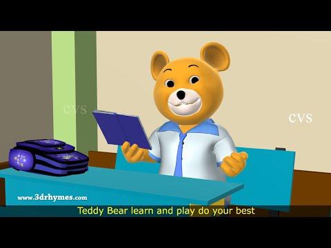 Teddy Bear Nursery Rhyme for Children