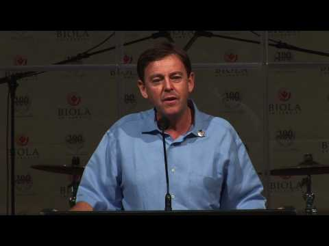 Begg - Alistair Begg speaks at Biola University on March 12, 2008 as part of the Centennial Chapel Series. Alistair Begg has been senior pastor at Parkside Church n...