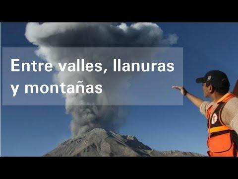 Entre valles, llanuras y montañas - Geografía