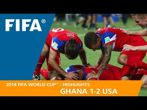 GHANA v USA (1:2) - 2014 FIFA World Cup™ (видео)