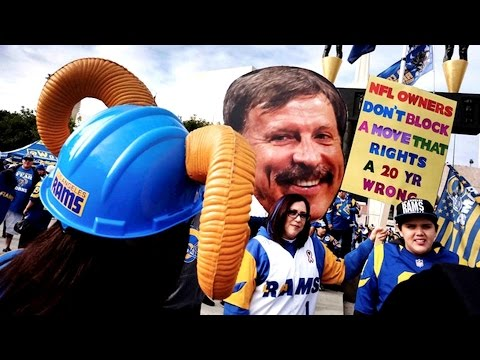 Video: Los Angeles Rams facing lawsuit from St. Louis