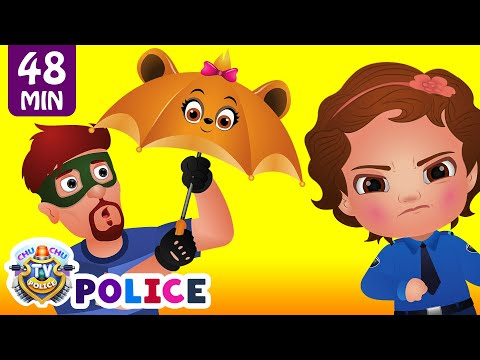 ChuChu TV Police Save The Umbrella Friends of the Kids from Bad Guys | ChuChu TV Surprise Eggs Toys