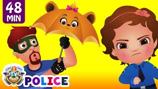 Nonton Chuchu Tv Police Save The Umbrella Friends Of The Kids From Bad Guys   Chuchu Tv Surprise Eggs Toys Film Subtitle Indonesia Streaming Movie Download