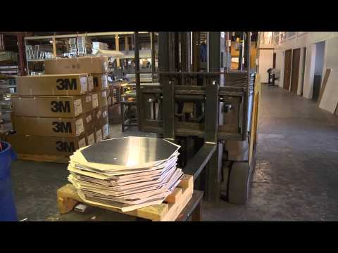 Haller Concepts St Louis Video   Aluminum Blanks for Sign Manufacturing