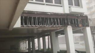 Los hoteles de Condado en Puerto Rico reciben el fuerte castigo del huracán María