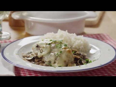 Chicken Recipes – How to Make Chicken with Mushrooms