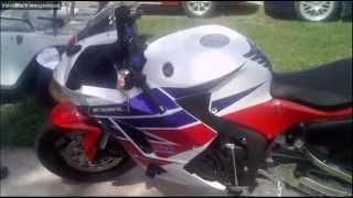 6. 2014 Honda CBR600RR motorcycle