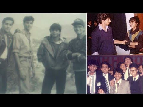 shahrukh khan old pics of his childhood, marriage, college, struggle
