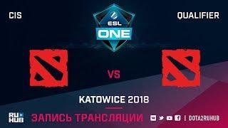 Nemiga vs HunkysFromZavod, ESL One Katowice CIS, game 2 [Maelstorm, GodHunt]